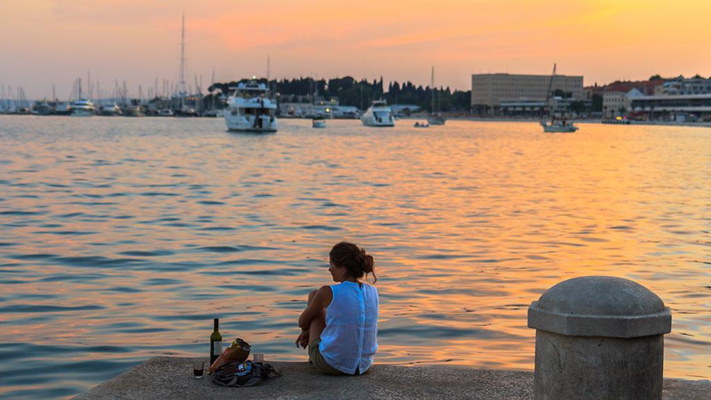 Atardecer con vistas. Split, 2012 ©Flivillegas