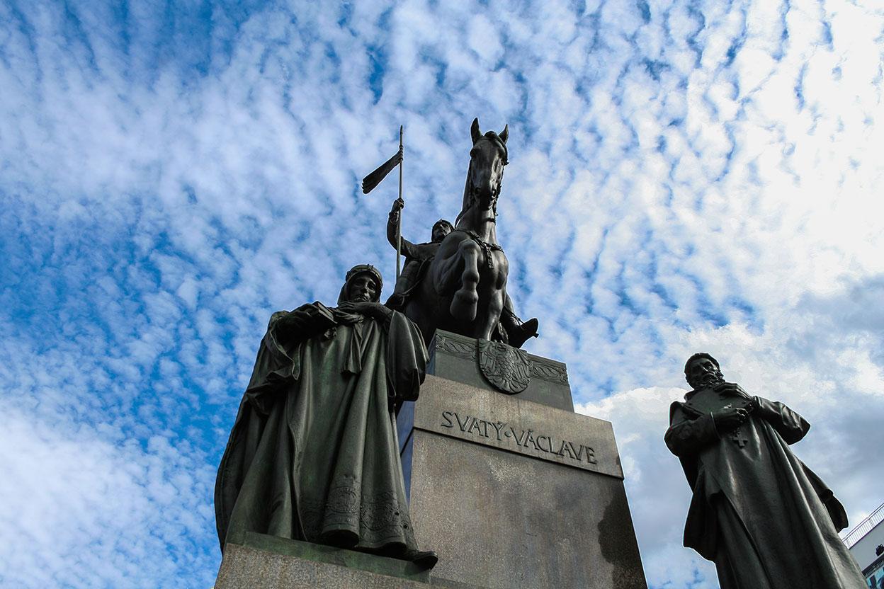 Prague. Wenceslao Square.