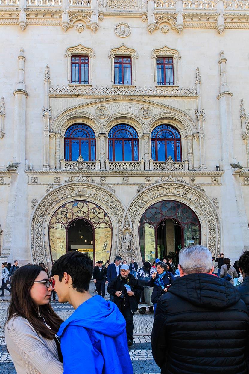 Los enamorados. Lisboa. Marzo de 2016 ©Flivillegas