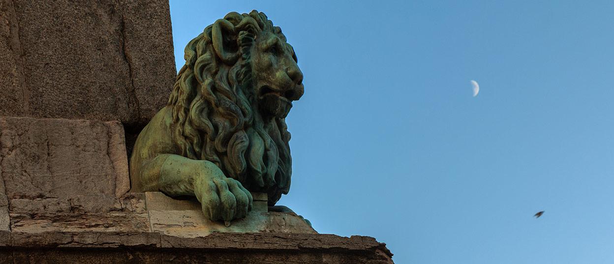 La luna y el león. Arlés, 2013 ©Flivillegas
