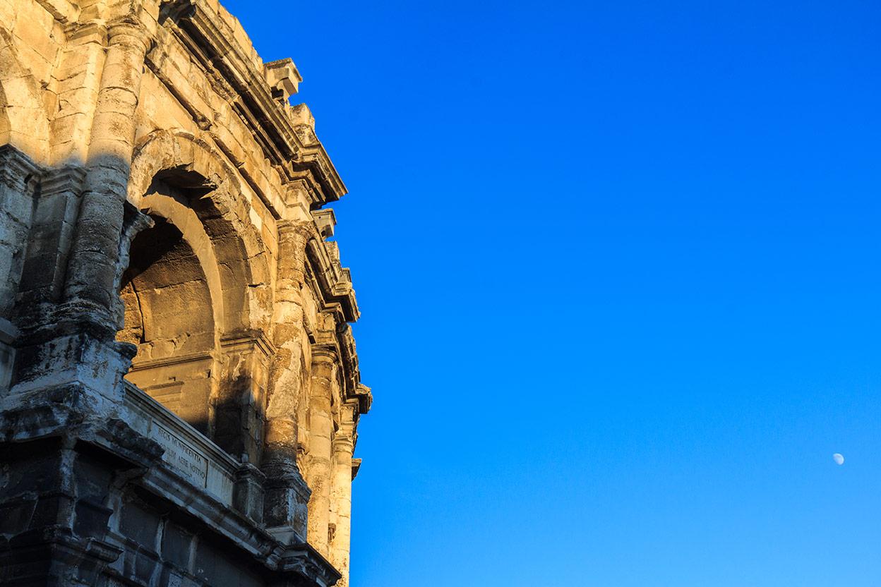 Roma en Nimes. 2013 ©Flivillegas